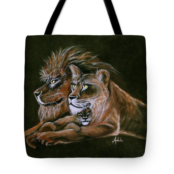 Devotion Tote Bag by Adele Moscaritolo