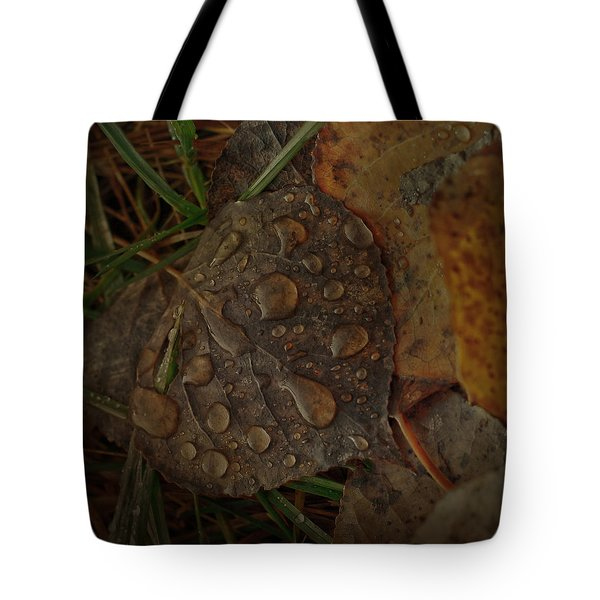 Dew To Age  Tote Bag by Jerry Cordeiro