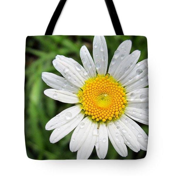Dewey Daisy Tote Bag