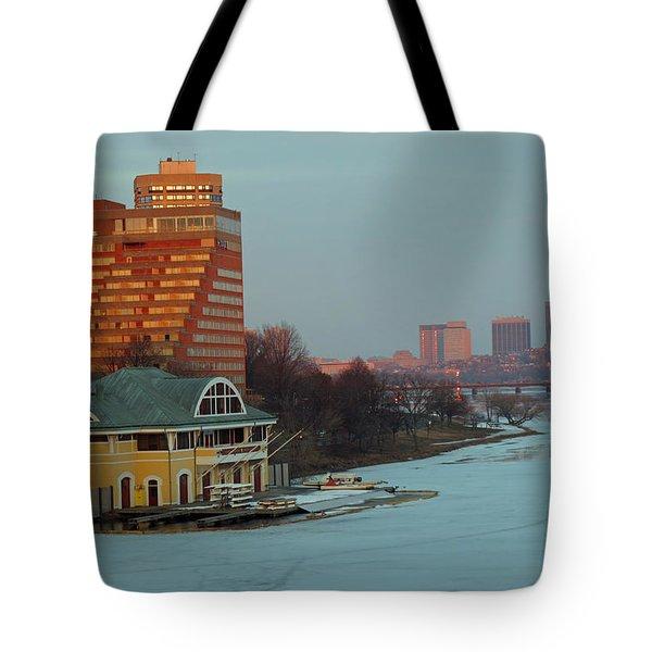 Dewolfe Boathouse Riverside Tote Bag