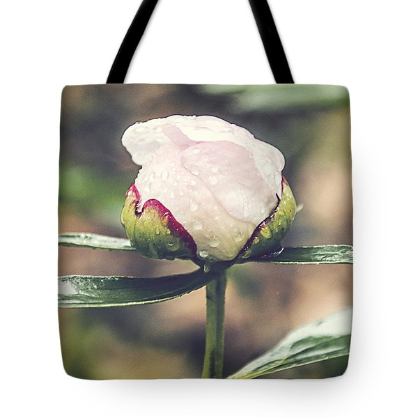 Dewy Bloom Tote Bag