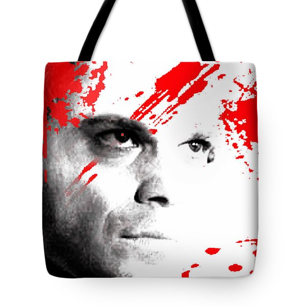 Tote Bag featuring the digital art Dexter Dreaming by Dale Loos Jr
