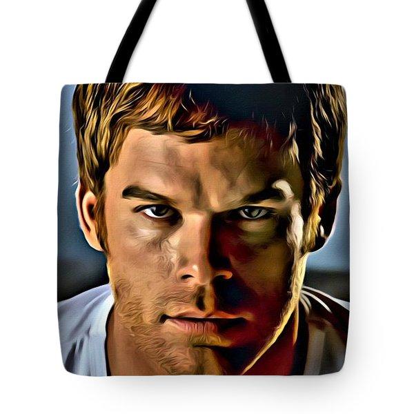 Dexter Portrait Tote Bag