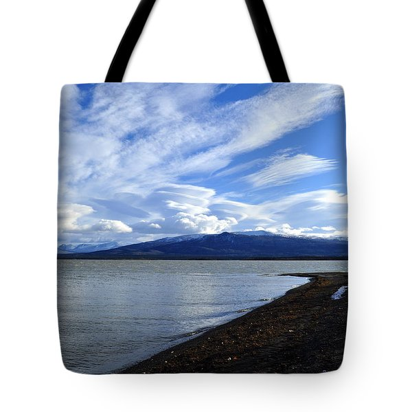 Dezadeash Lake Tote Bag
