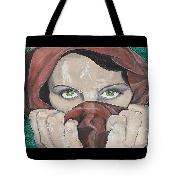 Dface Tote Bag
