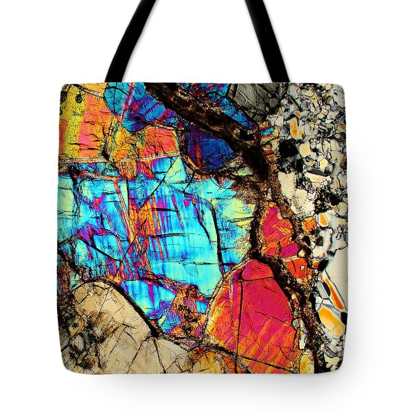 A Splash Of Blue Tote Bag