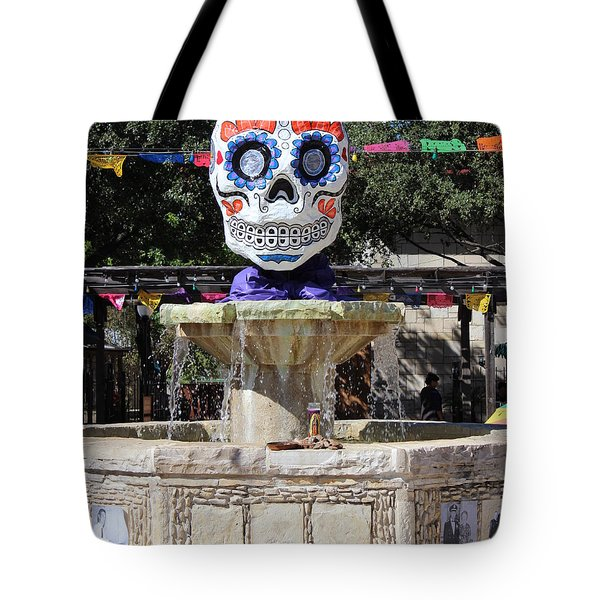 Dia De Los Muertos Tote Bag by Beth Vincent