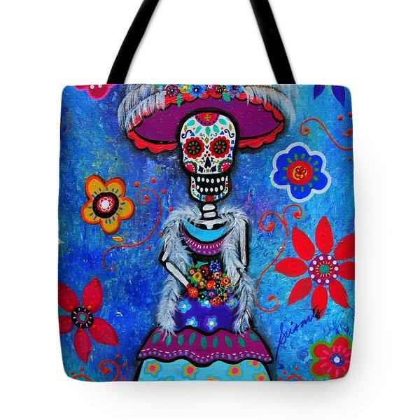Dia De Los Muertos Catrina Tote Bag