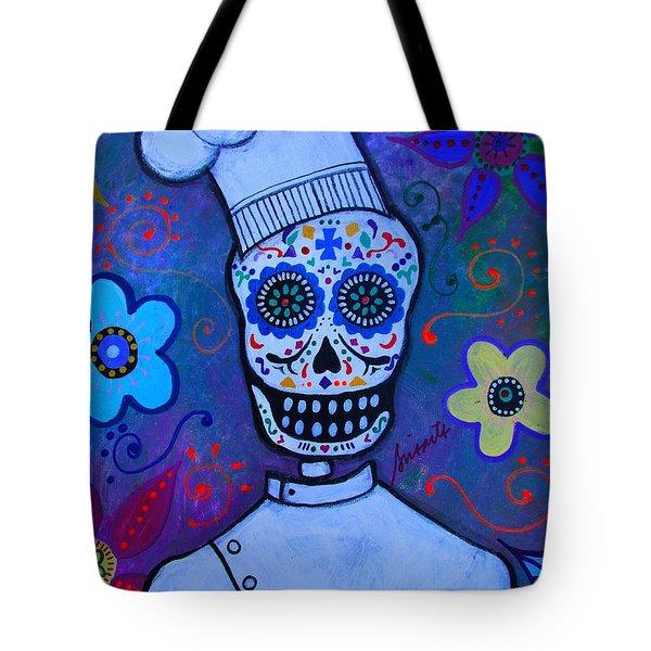 Dia De Los Muertos Cocinero Tote Bag