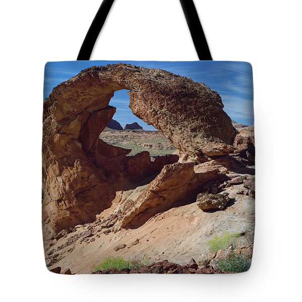 Diagenetic Arch-h Tote Bag
