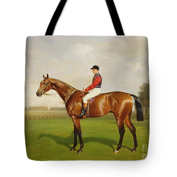 Diamond Jubilee Winner Of The 1900 Derby Tote Bag