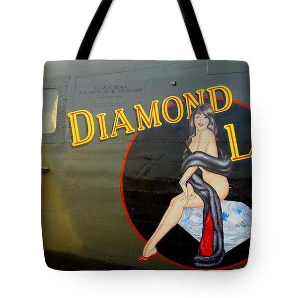 Diamond Lil B-24 Bomber Tote Bag