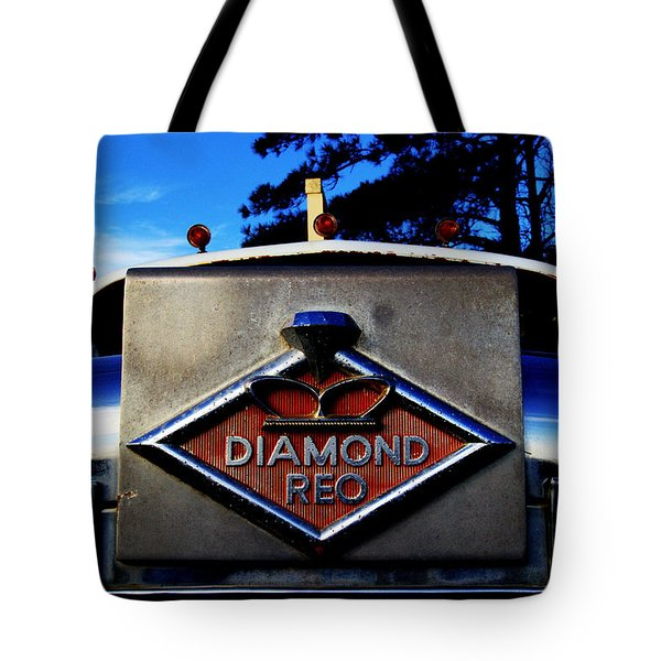 Diamond Reo Hood Ornament Tote Bag