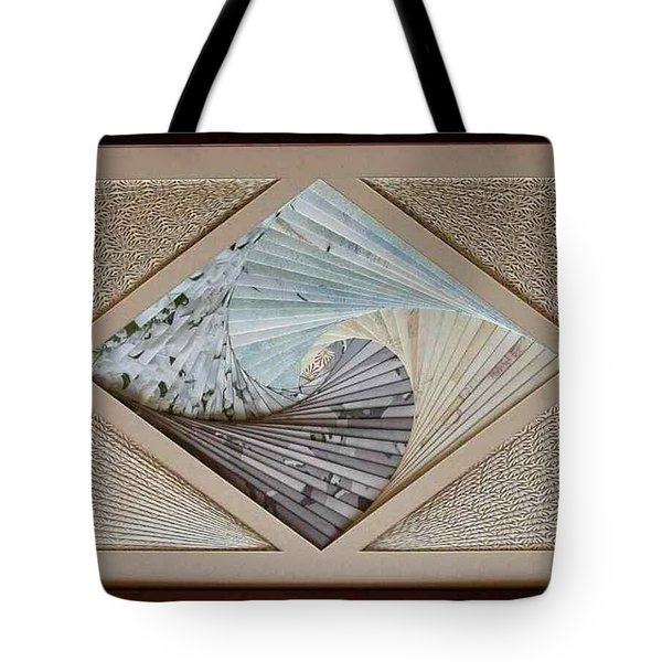 Tote Bag featuring the mixed media Diamonds Are Forever by Ron Davidson