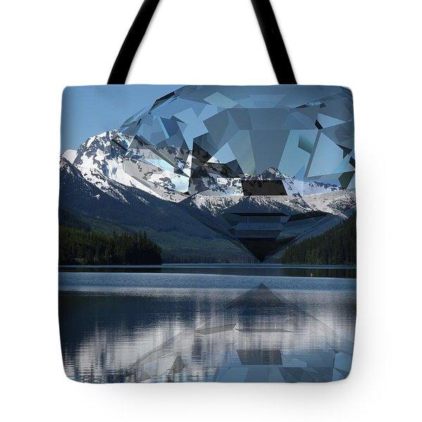 Diamonds Darling Tote Bag