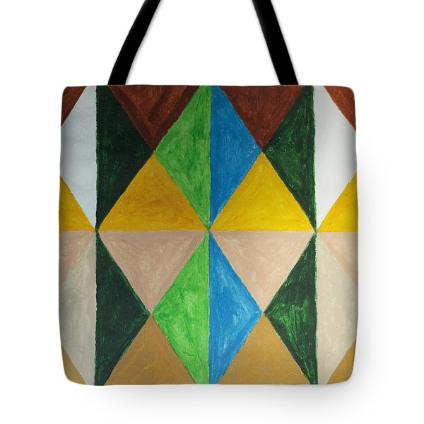 Diamonds Tote Bag by Stormm Bradshaw