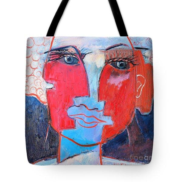 Dichotomous Being  Tote Bag by Ana Maria Edulescu
