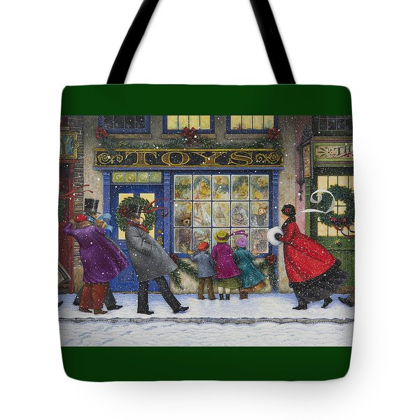 The Toy Shop Tote Bag by Lynn Bywaters