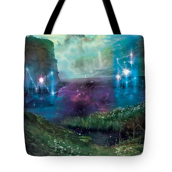 Dictate Of Kruphix Promo Tote Bag by Ryan Barger