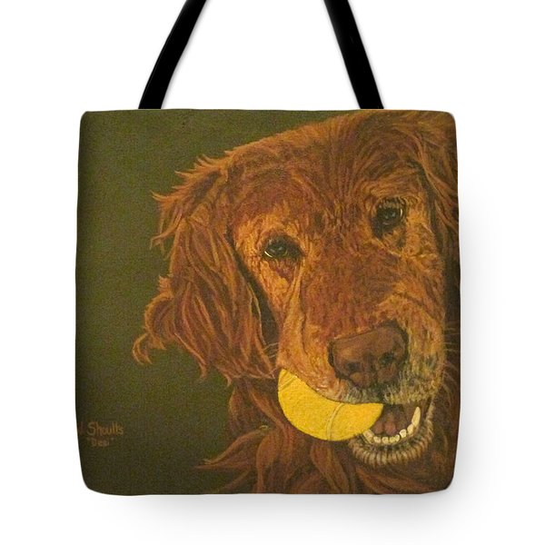 Did Somebody Say Ball? Tote Bag by Wendy Shoults