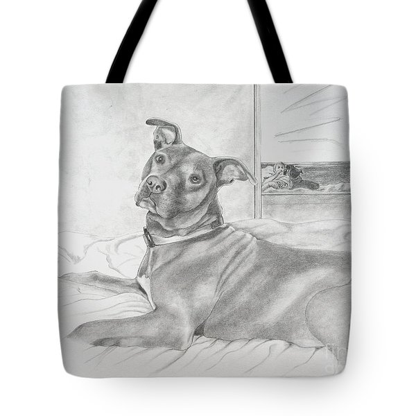 Did You Say Walk Tote Bag