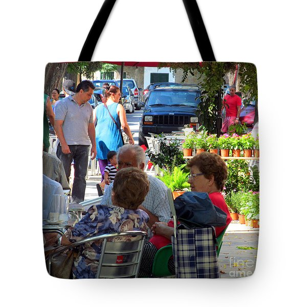 Did You Say You Went On Vacation? Tote Bag by Tina M Wenger