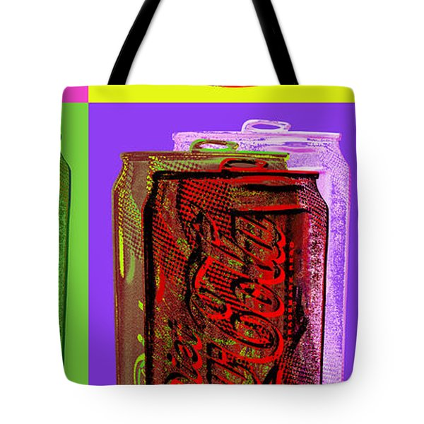 Diet Coke - Coca Cola Tote Bag by Jean luc Comperat