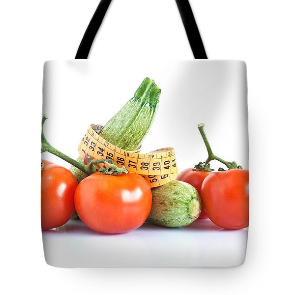 Diet Ingredients Tote Bag