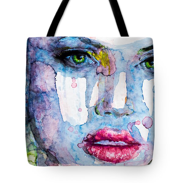 Tote Bag featuring the painting Different Is Inspiring by Laur Iduc