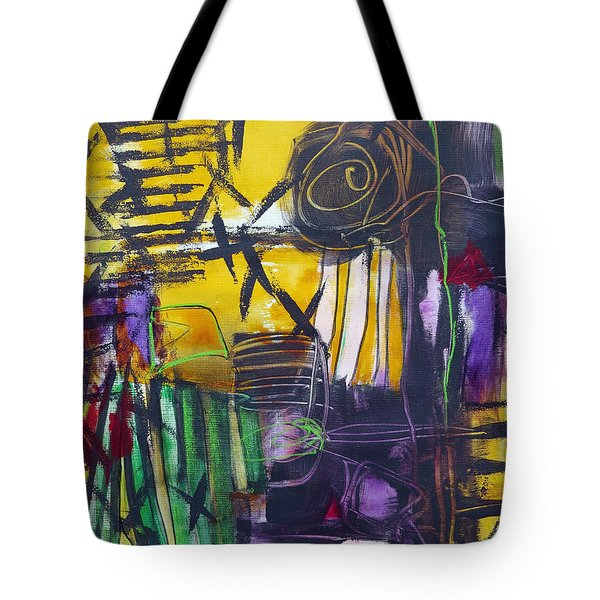 Different Path Tote Bag