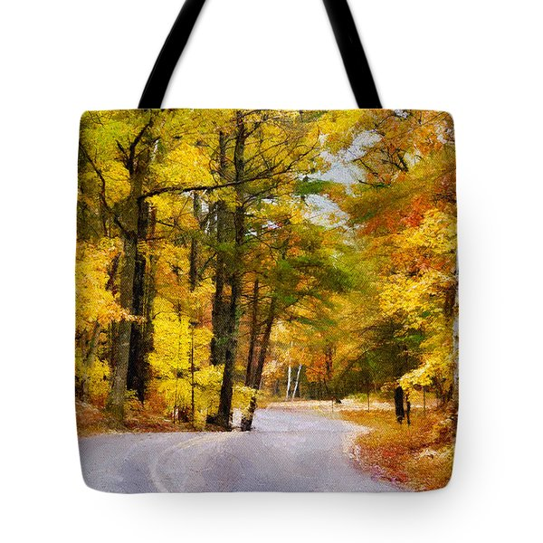 Tote Bag featuring the photograph Fall Colors by David Perry Lawrence