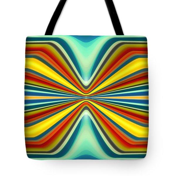 Digital Art Pattern 8 Tote Bag by Amy Vangsgard