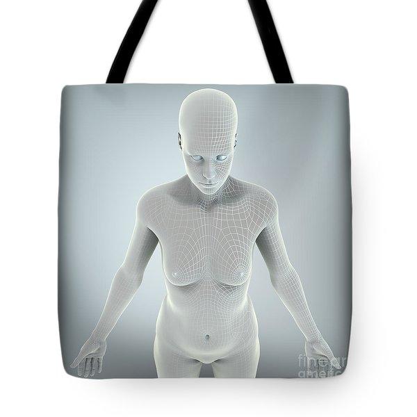 Digital Being Tote Bag