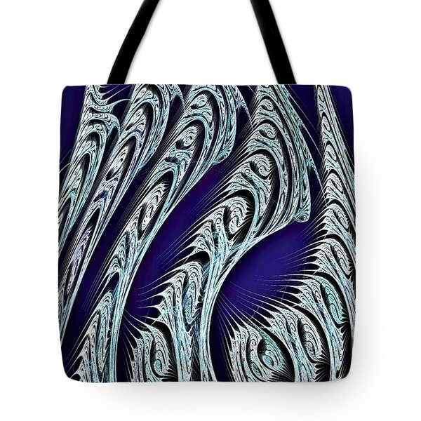 Digital Carvings Tote Bag by Anastasiya Malakhova