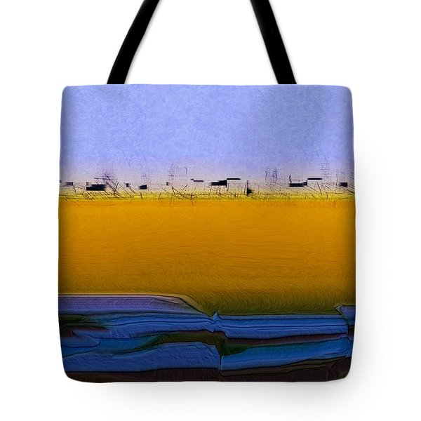 Digital City Landscape - 2 Tote Bag
