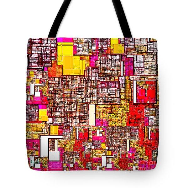 Digital Design 542 Tote Bag by Nedunseralathan R