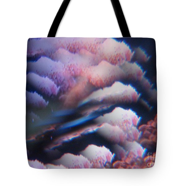 Digital Fantasy Storm Abstract Tote Bag by Sheri Dean