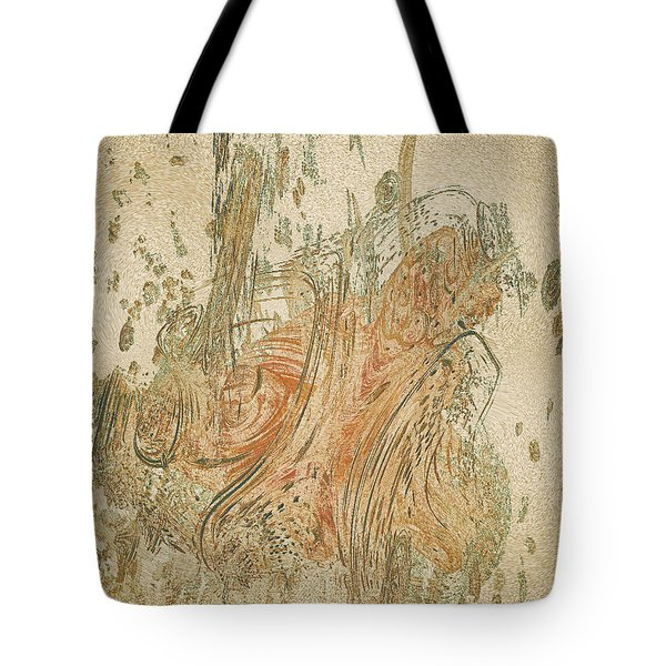 Digital Sumi-e Tote Bag