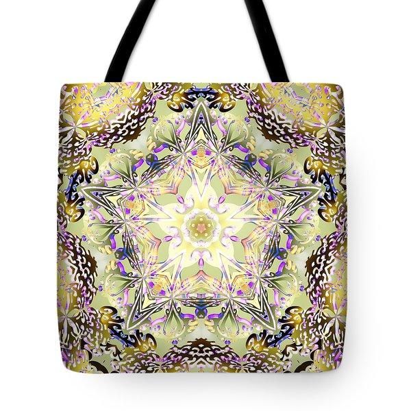 Digmandala Simha Tote Bag by Derek Gedney