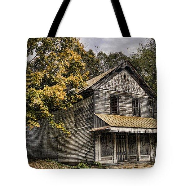 Dilapidated Tote Bag by Heather Applegate