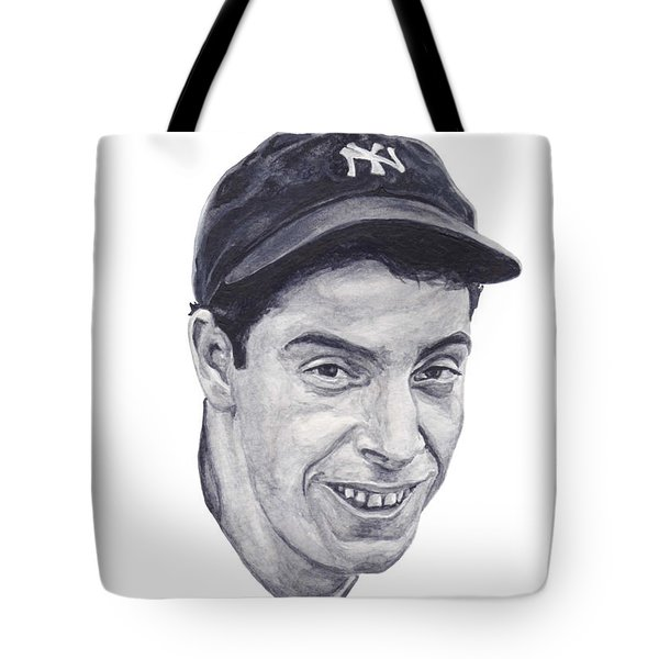 Tote Bag featuring the painting Dimaggio by Tamir Barkan