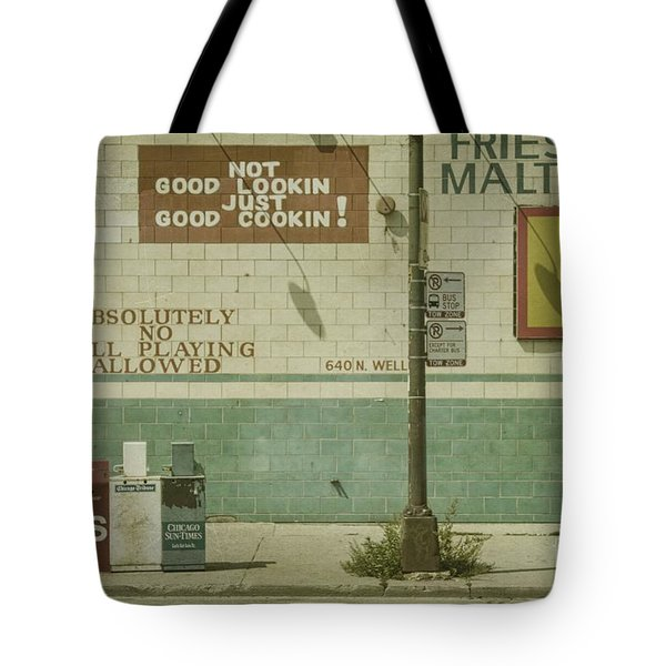 Diner Rules Tote Bag