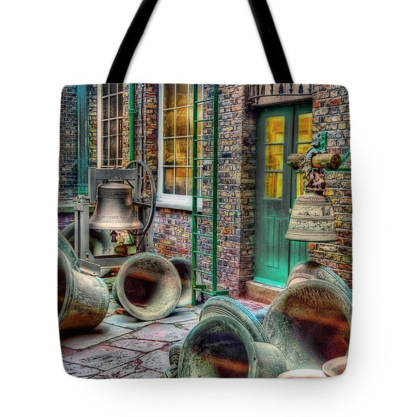 Tote Bag featuring the photograph Ding Dong Hosiptal by Ron Shoshani