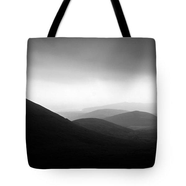 Dingle Curves Tote Bag by Mark Callanan