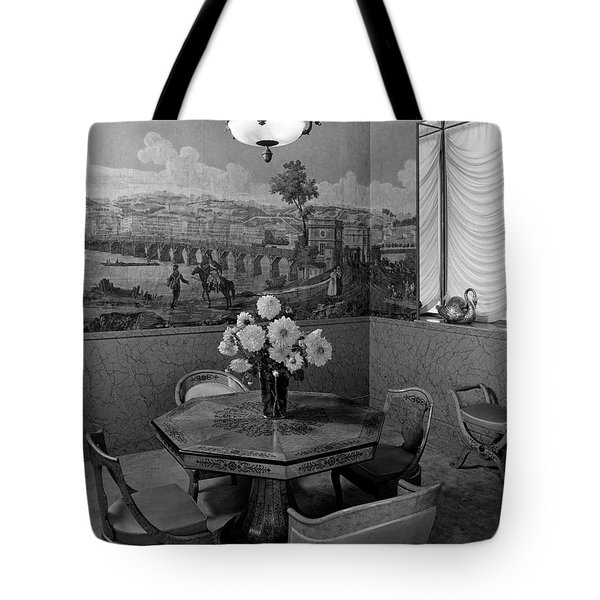 Dining Room In Helena Rubinstein's Home Tote Bag