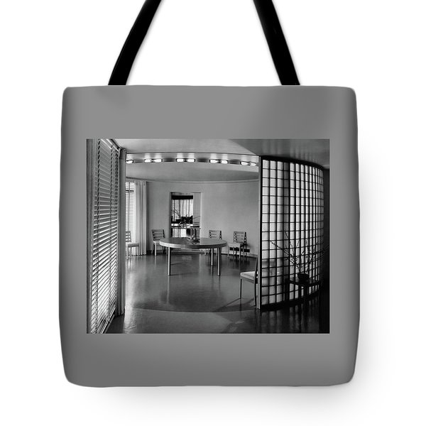 Dining Room In Mr. And Mrs. Alfred J. Bromfield Tote Bag