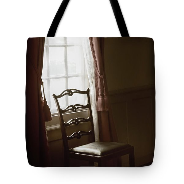 Dining Room Window Tote Bag by Margie Hurwich