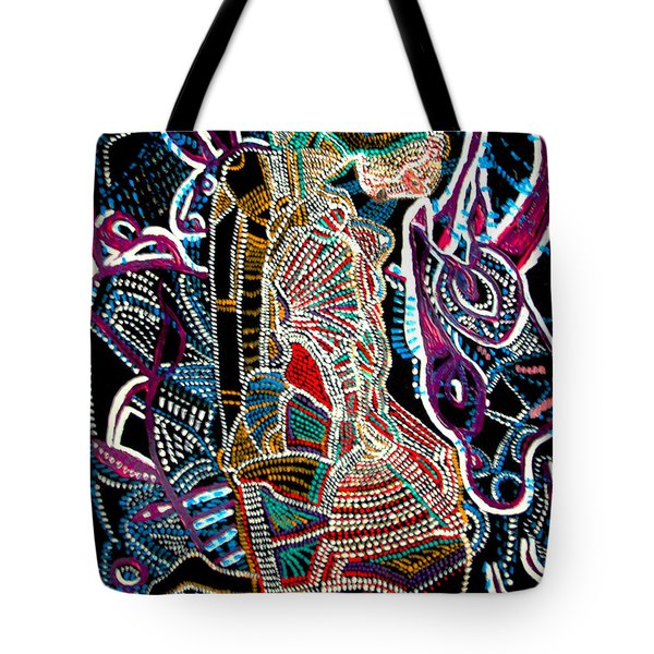 Dinka Bride Tote Bag by Gloria Ssali