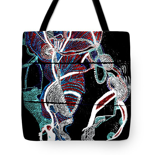 Dinka Tote Bag by Gloria Ssali