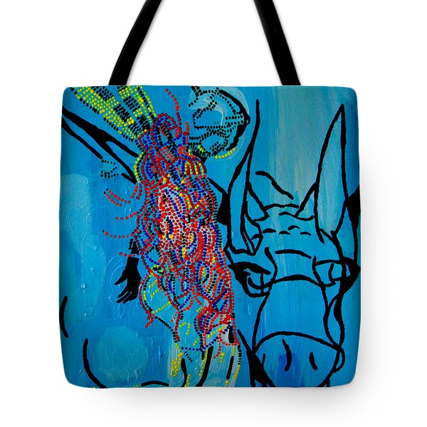 Dinka Groom - South Sudan Tote Bag by Gloria Ssali